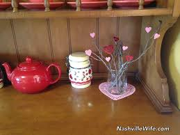 what do you think of her valentine s day decorations they re all made from items she had on hand she also has a talent for turning everyday things into