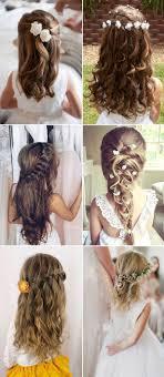 25 Unique Flower Girl Hairstyles Ideas On Pinterest Kid Hair