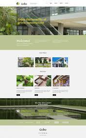 Landscape Website Designers Build A Website For Exterior Designer Responsive Moto Cms