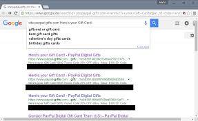 paypal digital gift cards code leak