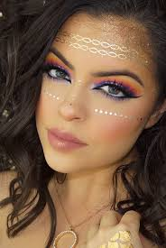 makeupmonday festival makeup ideas on fevrie beauty stuff in 2019 and looks