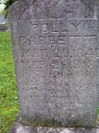 "Mary ""Polly"" Garrett (1840-1913) - Find A Grave Memorial"