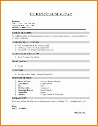 2018 Sample Resume For Freshers Bcom Graduate Pdf Margorochelle Com
