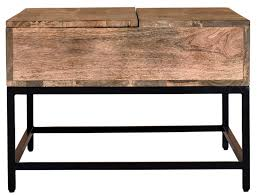 wrought iron lift top coffee table