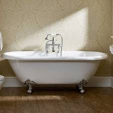 duchy traditional roll top oval freestanding bath with legs 1700mm x 800mm
