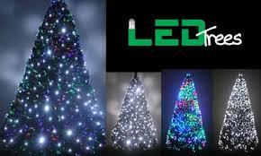 Artificial Prelit Christmas Trees U2013 75u0027 Downswept Hunter Fir Pre Sale On Artificial Prelit Christmas Trees