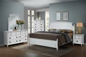 Leila White Bedroom Set by Global Furniture