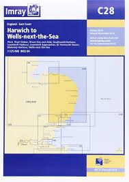 Imray Chart C28 Harwich To Wells Next The Sea Amazon Co Uk