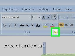image titled add exponents to microsoft word step 6