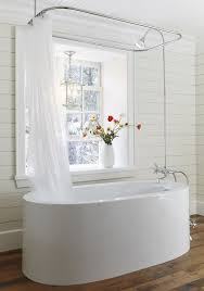 15 Incredible Freestanding Tubs With Showers | Clawfoot Tub Shower ...