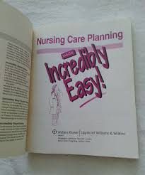 Incredibly Easy Series 174 Nursing Care Planning Made Incredibly Easy 2007 Paperback
