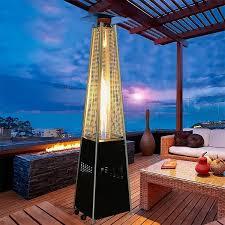 pyramid outdoor patio propane heater