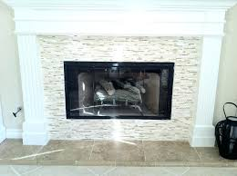 glass mosaic tile fireplace surround ideas subway green interior exquisite picture living room decoration light
