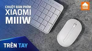 Bộ bàn phím kèm chuột không dây Xiaomi Miiiw | Bàn Phím Văn Phòng