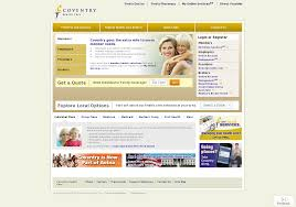 coventry health care website history
