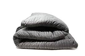 calm my blanket weighted blanket for stress anxiety and insomnia 15 lbs
