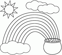 Small Picture Coloring Pages Of Rainbows Holidays And Unicorns Rainbow Brite