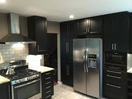 Ikea Laxarby Black Brown Kitchen Kitchens White And Black Brown