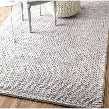 light grey area rug woolen cable hand woven light gray area rug light gray area rug