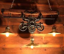 etsy industrial lighting. gorgeous antique rustic hay trolley yoke chandelier barn cabin light by lukesnhyde on etsy https lightingindustrial industrial lighting