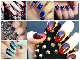 Different types of creative nail art designs