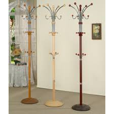 Cherry Wood Coat Rack Overstock Metal and Wood Standing Coat Rack Available in a 2
