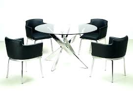 glass topped dining table and chairs