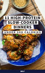 easy home cooked dinner ideas. 11 high-protein slow-cooker dinners under 500 calories. high protein recipesprotein easy home cooked dinner ideas