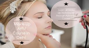 what will i learn in makeup course in delhi