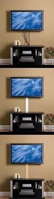 Hiding cords for wall mounted TV....I like this I think it