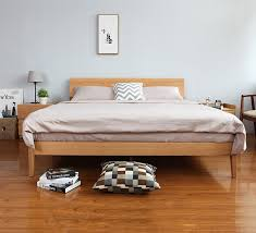 Wood Bed Frame Singapore Antoine (4)