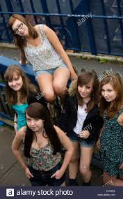 British teen girls 5
