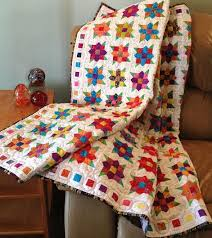 10+ Modern Flower Quilt Patterns You'll Love & Flowers Squared Quilt pattern Adamdwight.com