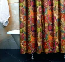 bright color shower curtains multi colored window