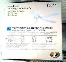 ceiling fan use amps power consumption wattage amazing in