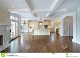 Kitchen Family Room Kitchen And Family Room Royalty Free Stock Photo Image 12656305