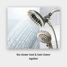delta in2ition h2okinetic showers give you more
