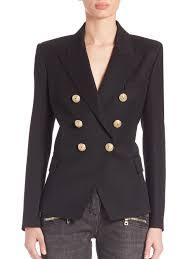 balmain double ted blazer double ted leather jacket balmain gown