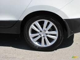 2010 Cotton White Hyundai Tucson Limited #36063582 Photo #4 ...