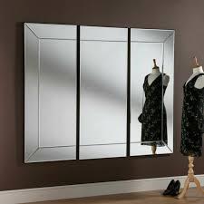 uk made large all glass modern 3 panel