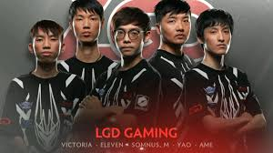 lgd gaming player intro the international 2017 dota 2 youtube