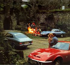 1970 calendar - Opel GT and Opel Kadett Coupé Rally Location ...