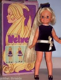 Pin by Wendi Freeman on Childhood memories in 2020   Doll with hair, Velvet  dolls, My childhood memories