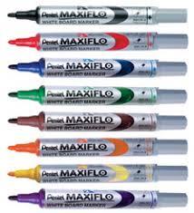 Marqueur MAXIFLO MWL5S pour tableau blanc - bleu - Marqueurs ...