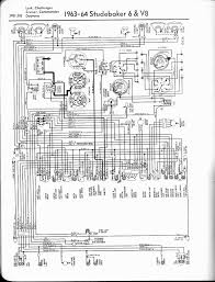 studebaker wiring diagrams the old car manual project 1963 64 6 cyl v8 lark challenger cruiser commander daytona