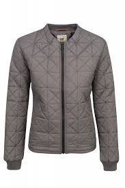 NEW Lee Nylon Bomber Jacket Ladies Quilted Grey Women's SALE WOW ... & NEW Lee nylon bomber jacket Womens bomber jacket grey ladies jacket Quilted  Jacket SALE WOW Adamdwight.com