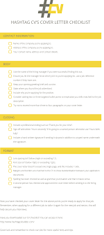 cover letter tips checklist cv cv builder
