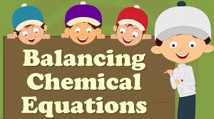 balancing chemical equations for beginners 3 create 5 test questions