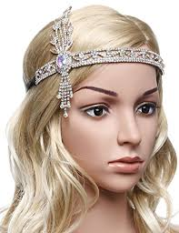 Gatsby Hairstyles 77 Inspiration BABEYOND 24s Flapper Headband Great Gatsby Inspired Headpiece
