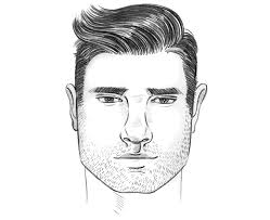 the perfect men s hairstyle haircut for a square face shape